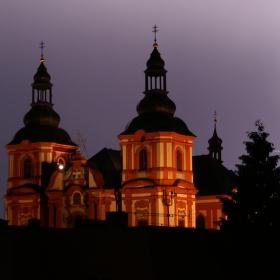 Kostel za bouřky