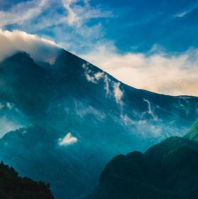 Vulkán Merapi
