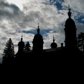 Pyhän Eliaan ortodoksinen kirkko Ilomantsissa.