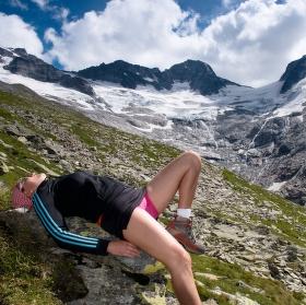 pohoda pod ledovcem,Zillertalské Alpy