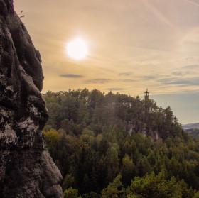Rozhledna ve Sloupu v Čechách