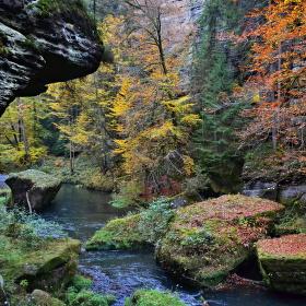 Podzim na Kamenici