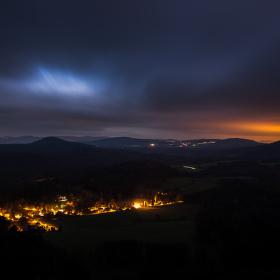 .. noční krajina ..
