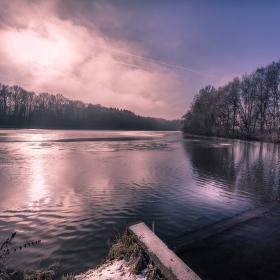 Zimní rybník