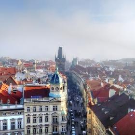 Mlha ve městě