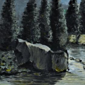Horský potok.