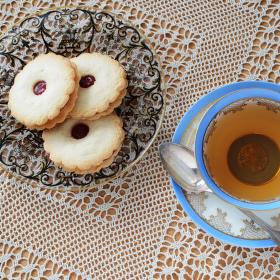 Odpolední čaj v kraječkách
