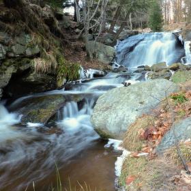 První vodopád :)