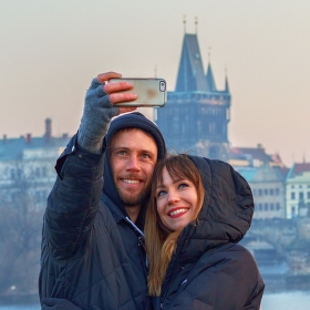 Cizinci v Praze