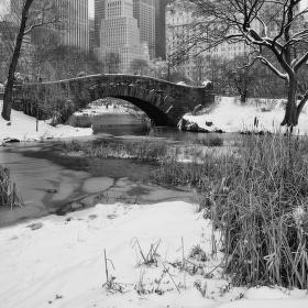 Bílé ráno na Manhattanu