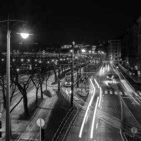 Budapešťská černobílá