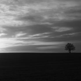 Samotář před západem
