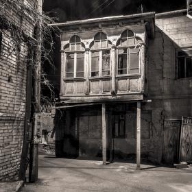 Staré Město v Tbilisi, duben 2017