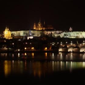 Noční dominanta Prahy