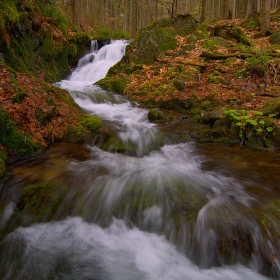 Vodopád Hlubokého potoka