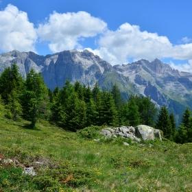 Dolomity, skupina Brenta.