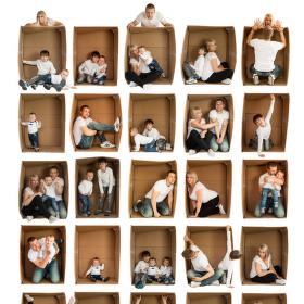 Krabicová rodinka