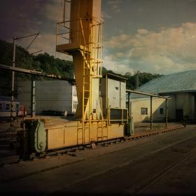 v lokomotivním depu