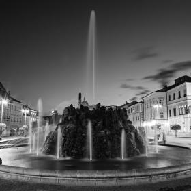 Bánská Bystrica v noci