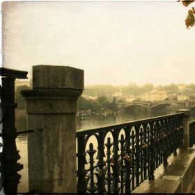 podzimní procházka podél Vltavy