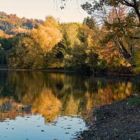 zákoutí přehrady Větřkovice