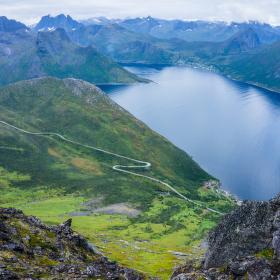 Norway Senja island