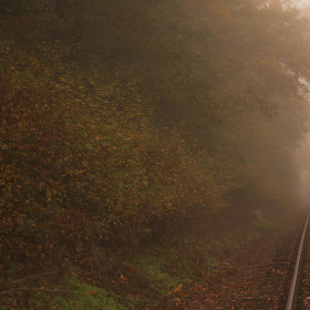 Po kolejích do mlhy