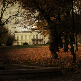 zahrady na úpatí Petřína