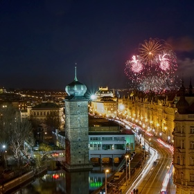 Praha novoroční