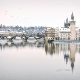 Zima v Praze