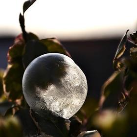 Zmrzlá bublina
