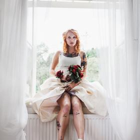 Kája ve svůj svatební den