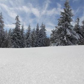 Zima na Pustevnách