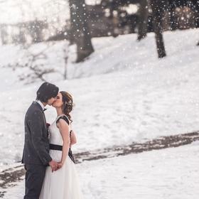 Zasněžená svatba