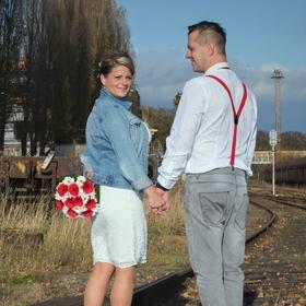 Trochu industriální svatba