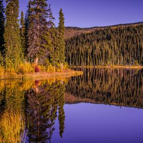 Zrcadlo na Yukonu