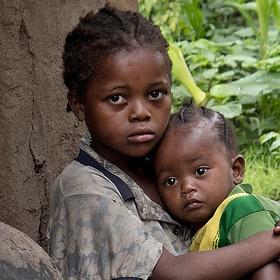 Děti černé Afriky