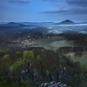Jetřichovice před probuzením
