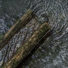 Cesta vody do jezírka