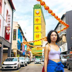 V Čínské čtvrti