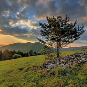 Podvečer v Strážovských vrchoch