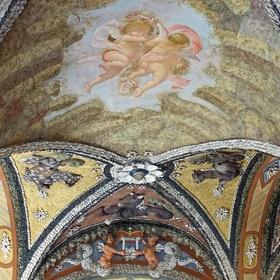 Sala terrena zámku v Libochovicích