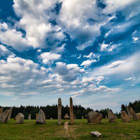 České Stonehenge