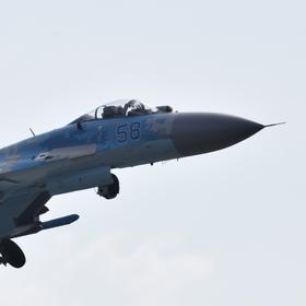 Su-27  (Повітряні Сили України, Povitryani Syly Ukrayiny)
