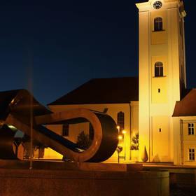 Malebné náměstí v Dobřanech