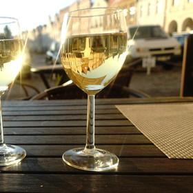 Na skleničku v Telči...
