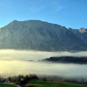 Mlhy v údolí.