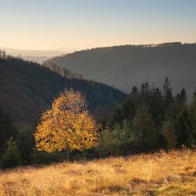 Podzimní Beskydy
