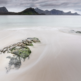 Haukland Beach_Lofoty_Norsko