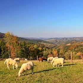 podzimní Valašsko
